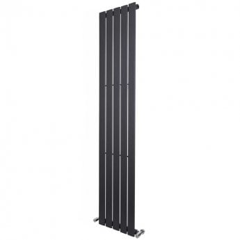 Verona Vibe Designer Single-Panelled Vertical Radiator 1800mm H x 376mm W - Anthracite