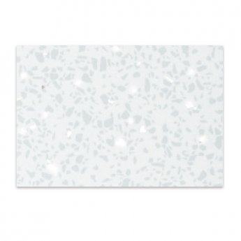 Verona PVC Ceiling and Shower Wall Panel Pack 4 Panels Per Pack - White Diamond Stone