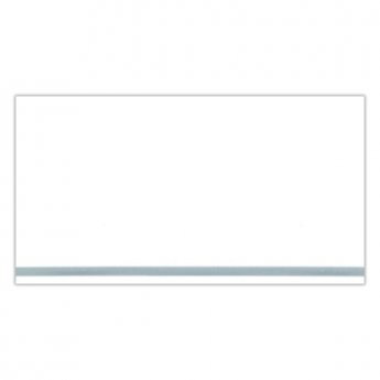 Verona PVC Ceiling and Shower Wall Panel Pack 4 White Panels per Pack - Silver Strip
