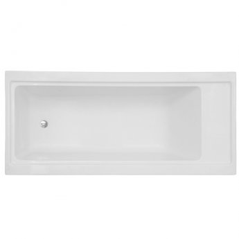 Vitra 4 Life Pure Single Ended Rectangular Bath 1800mm x 800mm - 0 Tap Hole