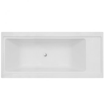 Vitra 4 Life Pure Double Ended Rectangular Bath 2000mm x 900mm - 0 Tap Hole