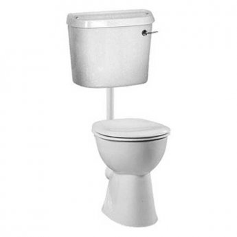 Vitra Arkitekt Low Level Toilet with Lever Cistern - Standard Seat and Cover