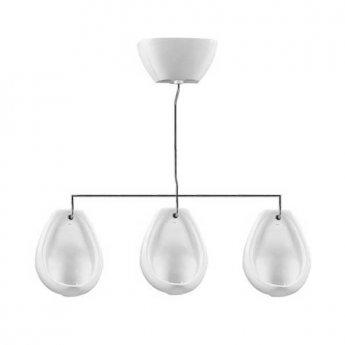 Vitra Arkitekt 3-Bowl Exposed Urinal System, White