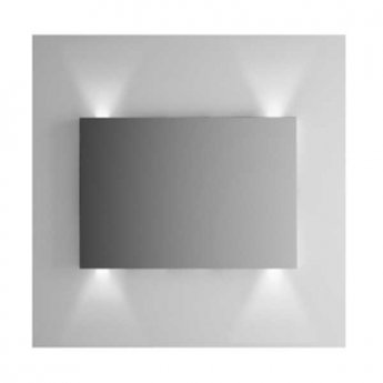 Vitra Brite Illuminated Bathroom Mirror 700mm H x 1000mm W