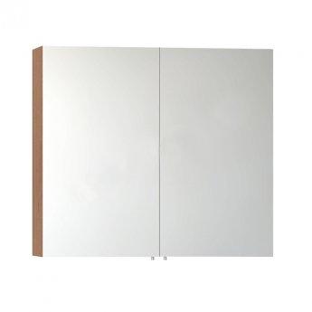 VitrA Classic Mirror Cabinet 800mm W Golden Cherry
