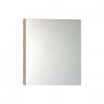 VitrA Classic Mirror Cabinet 800mm W Golden Cherry