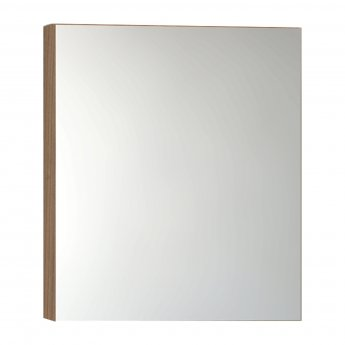 VitrA Classic Mirror Cabinet 600mm W Golden Cherry