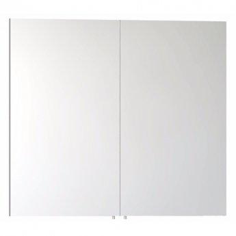VitrA Classic Mirror Cabinet 800mm W White