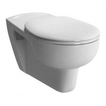 Vitra Conforma Special Needs Wall Hung WC Toilet Pan 700mm Projection - Excluding Seat