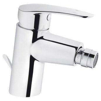 VitrA Dynamic Bidet Mixer Tap with Pop Up Waste, Chrome