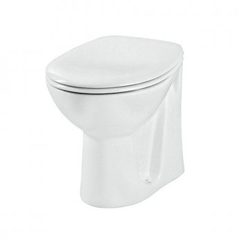 VitrA Layton Back to Wall Toilet WC - Standard Seat