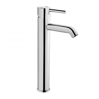 Vitra Minimax Basin Mixer Tap for Bowls, Chrome