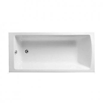 VitrA Neon Single Ended Rectangular Bath 1600mm x 750mm 0 Tap Hole