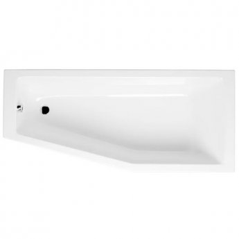 VitrA Neon Space Saver Bath Left Handed 1700mm x 750mm 0 Tap Hole