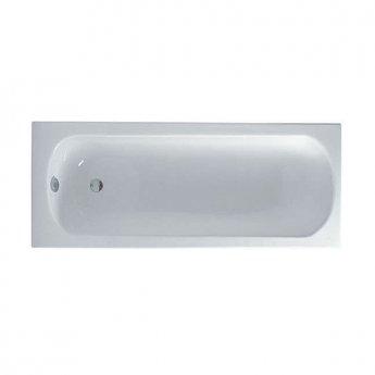 VitrA Optima Single Ended Rectangular Bath 1500mm X 700mm 0 Tap Hole