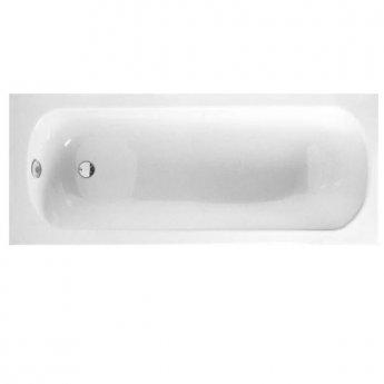 VitrA Optima Single Ended Rectangular Bath 1700mm X 700mm 0 Tap Hole