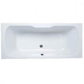 VitrA Optima Double Ended Rectangular Bath 1700mm X 750mm 0 Tap Hole