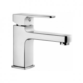 Vitra Q-Line Basin Mixer Tap without Pop Up Waste, Chrome