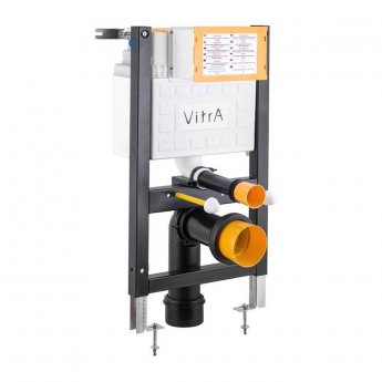 Vitra 1080mm H Wall Hung Reduced Height Toilet Frame with 3/6 Litre Concealed Cistern
