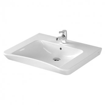 Vitra S20 Compact Washbasin 650mm Wide 1 Tap Hole