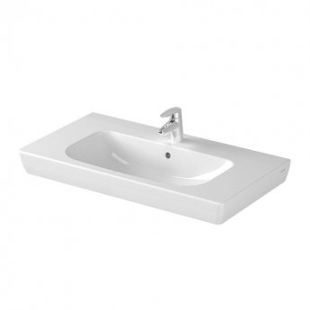 Vitra S20 Vanity Basin 850mm Wide 1 Tap Hole