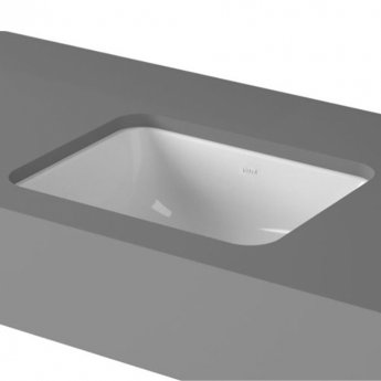 Vitra S20 Compact Under-Counter Basin 450mm Wide 0 Tap Hole