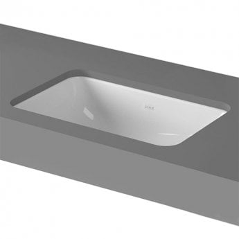 Vitra S20 Compact Under-Counter Basin 550mm Wide 0 Tap Hole