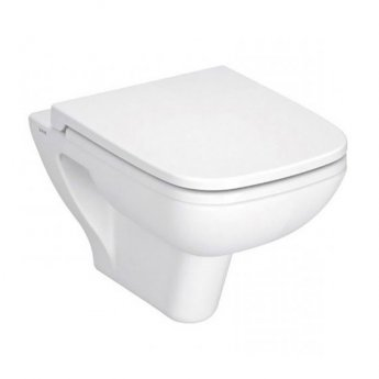 VitrA S20 520mm Projection Wall Hung Toilet WC - Standard Seat