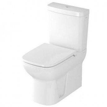 Vitra S20 Close Coupled Toilet Closed Back Push Button Cistern - Soft Close Seat