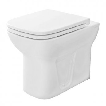 VitrA S20 Back to Wall Toilet WC - Soft Close Seat