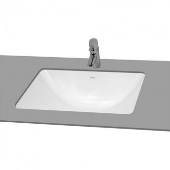 Vitra S50 Under Counter Wash Basin 480mm Wide 0 Tap Hole