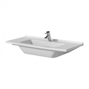 Vitra S50 Vanity Basin 1200mm Wide 1 Tap Hole