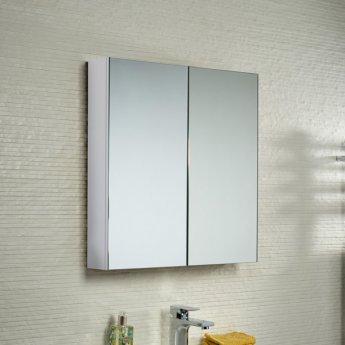 VitrA S50 Mirror Cabinet 1000mm W White