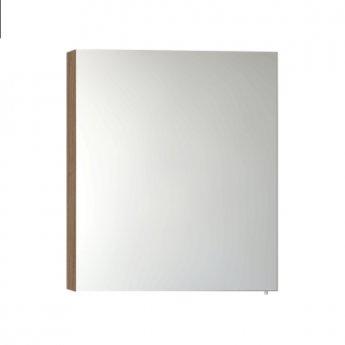 VitrA S50 Mirror Cabinet 600mm W Oak