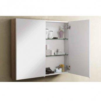 VitrA S50 Mirror Cabinet 1000mm W Oak