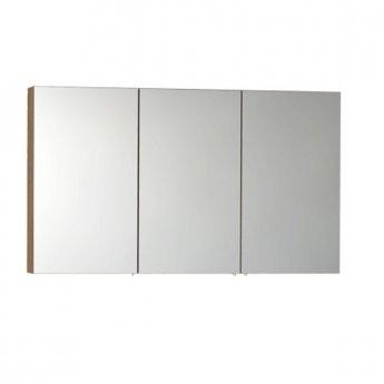 VitrA S50 Mirror Cabinet 1200mm W Oak