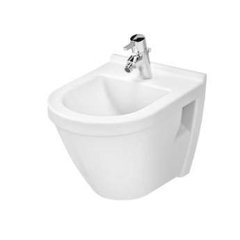 VitrA S50 Short Projection Wall Hung Bidet 360mm Wide 1 Tap Hole