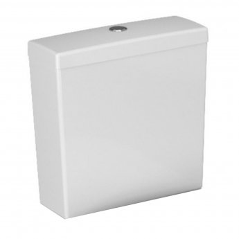 VitrA S50 Compact Close Coupled BTW Toilet WC Push Button Cistern - Soft Close Seat