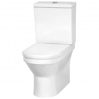 Vitra S50 Back to Wall Close Coupled Toilet with Cistern - Standard Seat