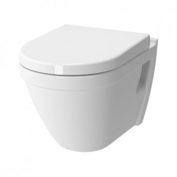 VitrA S50 Wall Hung Toilet WC Rimless - Standard Seat