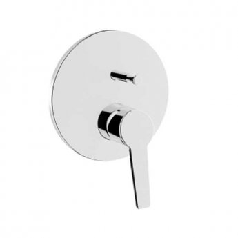 Vitra Solid S Built-in Bath/Shower Mixer Concealed Shower Valve - Exposed Part