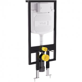 Vitra 1100mm H Wall Hung Toilet Frame with 2.5/4 Litre Concealed Cistern Pre Wall Gypsumplate Walls