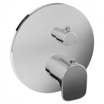 Vitra X-Line Built-In Thermostatic Shower Mixer Concealed Valve - V-Box Exposed Part