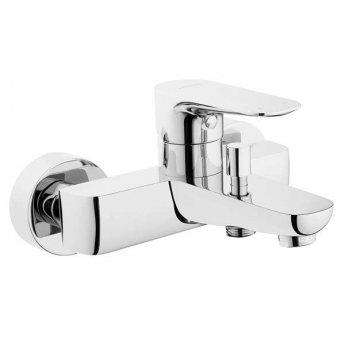 Vitra X-Line Bath Shower Mixer Tap Wall Mounted - Chrome
