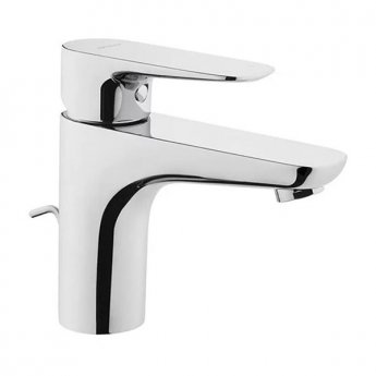 Vitra X-Line Basin Mixer Tap with Pop Up Waste - Chrome