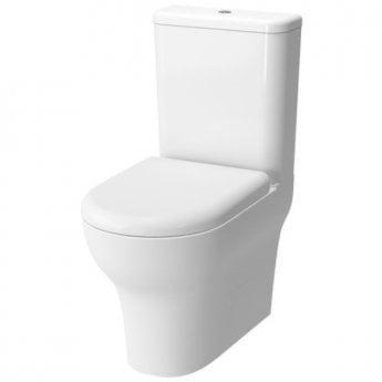 VitrA Zentrum Close Coupled BTW Toilet WC Push Button Cistern - Standard Seat