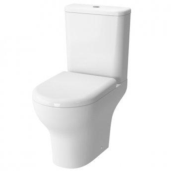 VitrA Zentrum Close Coupled OB Toilet WC Push Button Cistern - Soft Close Seat
