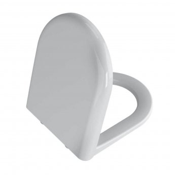 Vitra Zentrum Rimless Close Coupled OB WC pan with Push Button Cistern - Soft Close Seat
