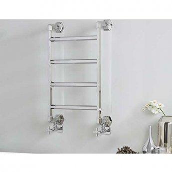Vogue Art Moderne 4 Heated Towel Rail 835mm H x 700mm W Central Heating