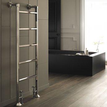 Vogue Art Moderne 7 Heated Towel Rail 1543mm H x 550mm W Central Heating